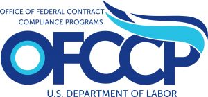 OFCCP Logo, in charge of affirmative action plan audits