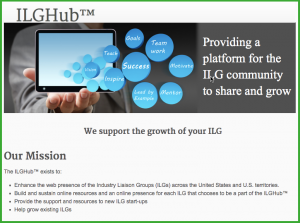 Image of the home page of the ILGHub assisting federal contractors with affirmative action plan compliance