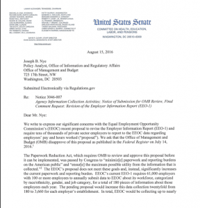 Rejection of EEOC's Data Collection Proposal Encouraged by ...